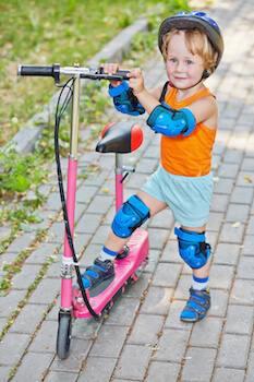 Trottinette électrique pour enfant
