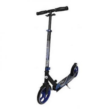 Unlimited dark blue trottinette grandes roues