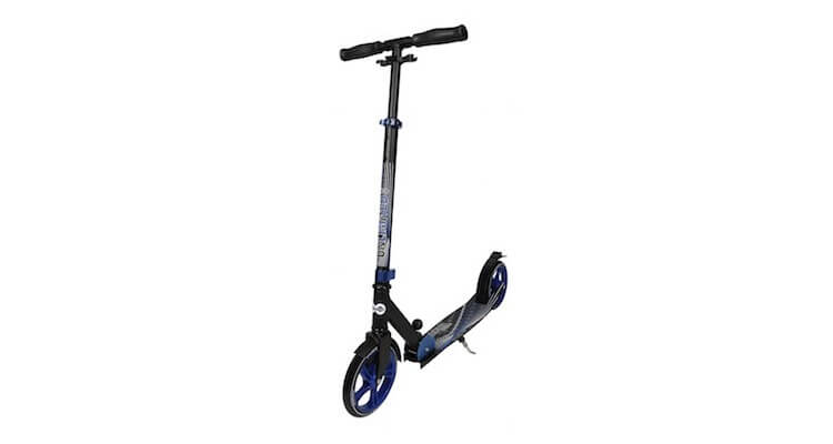 Unlimited dark blue trottinette grandes roues