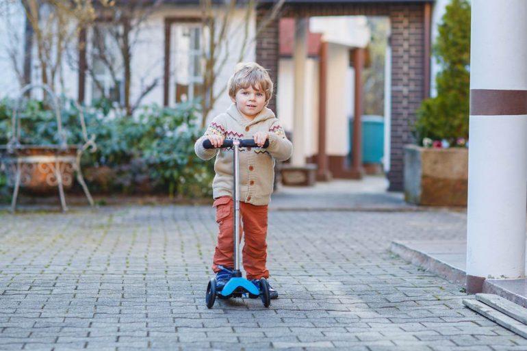 Meilleures trottinettes 3 roues enfant