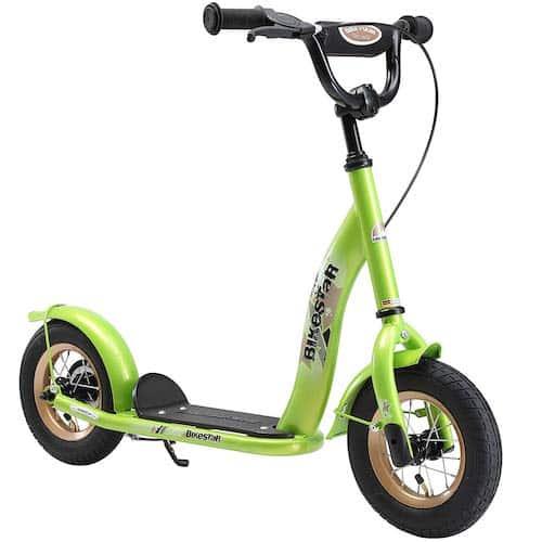 La trottinette Bikestar est adaptée pour les garçons ou filles de 4 ans