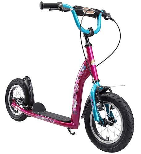 Bikestar Trottinette Tout-Terrain Enfant 6 à 10 ans Pneus 12 Pouces