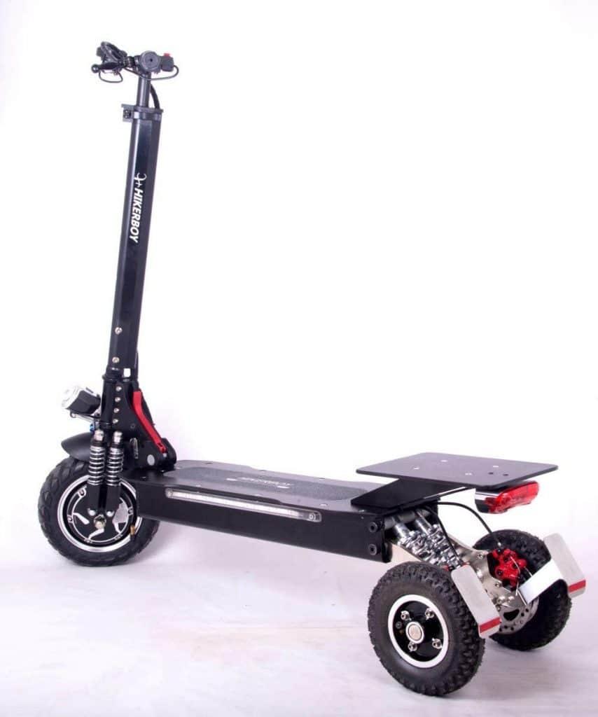 La Hikerboy est la meilleure trottinette 3 roue électrique à destination des adultes