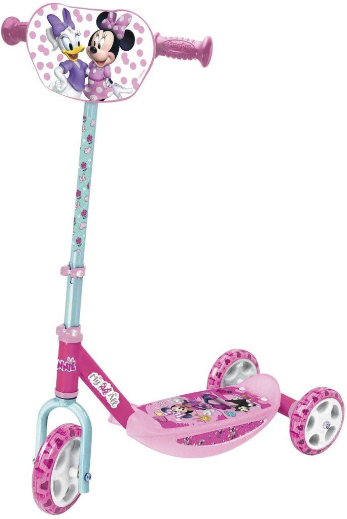 Le cadeau de Noël idéal pour les petites filles : la trottinette à trois roues Minnie