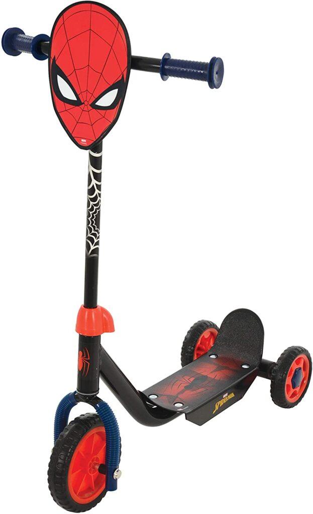 La meilleure trottinette à trois roues super-héros : la trottinette Spiderman trois roues